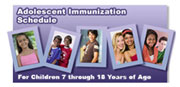 Adolescent Immunization Scheduler