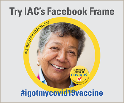 Try IAC's Facebook Frame