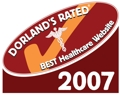 Dorland's Rated Best Healthcare Website 2007