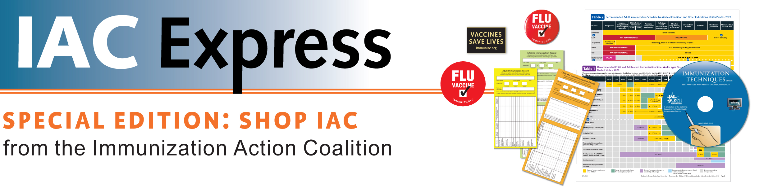 IAC Express: Weekly immunization news and information