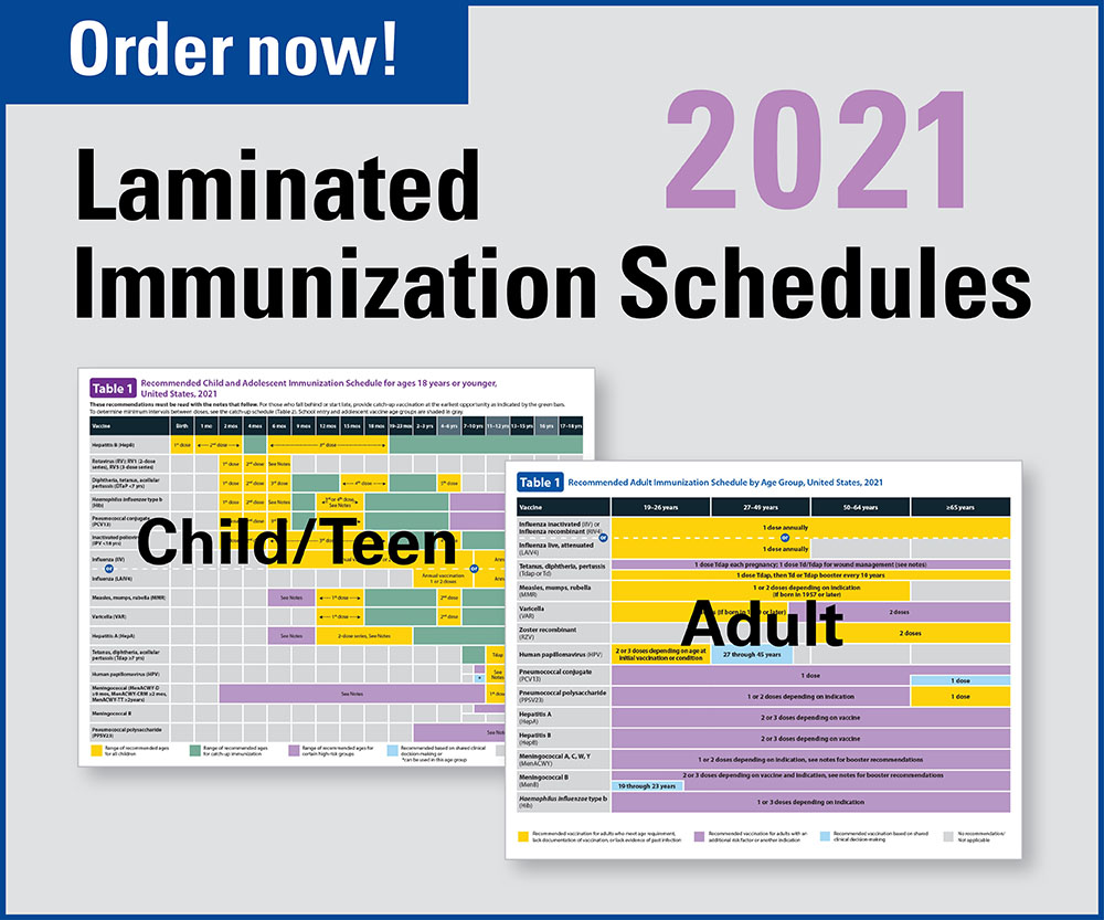 Laminated schedules 2021! Order now!
