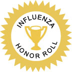 Apply for the Influenza Vaccination for HCP  Honor Roll