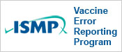 Vaccine Error Reporting Program (VERP)