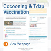 Cocooning and Tdap Vaccination