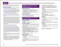 Child/Adolescent Immunization Schedules (laminated) (page 5)