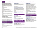 Child/Adolescent Immunization Schedules (laminated) (page 8)