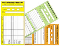 Immunization Record Cards