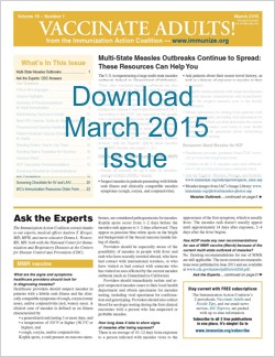 Vaccinate Adults March 2015