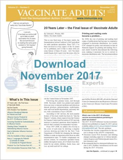 Vaccinate Adults November 2017