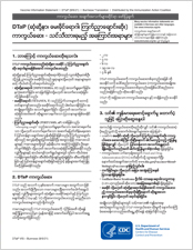 Burmese Language Vaccine Information