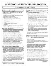 Vaccine Information Statements  VISs  CDC information