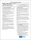 immunization info