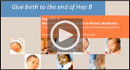 Webinar: Give birth to the end of Hep B